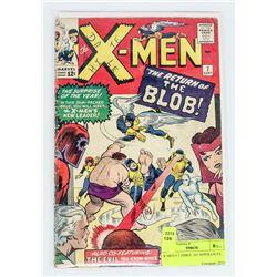 X-MEN # 7 THREE 1ST APPERANCES