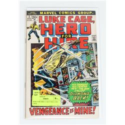 HERO FOR HIRE # 2 KEY ISSUE 2ND CAGE