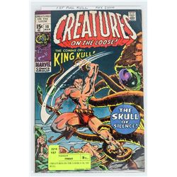 CREATURES ON THE LOOSE # 10, 1ST KULL