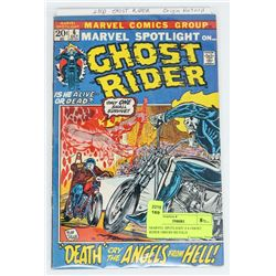 MARVEL SPOTLIGHT # 6 GHOST RIDER ORIGIN RETOLD