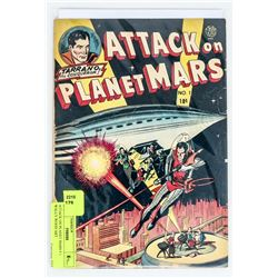 ATTACK ON PLANET MARS # 1 WALLY WOOD ART