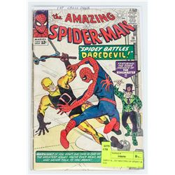 AMS # 16 , 1ST MEETING OF SPIDEY & D.D.