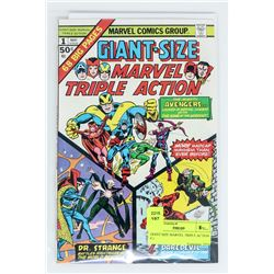GIANT SIZE MARVEL TRIPLE ACTION # 1