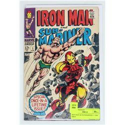 IRON MAN & SUB MARINER # 1 ONE SHOT