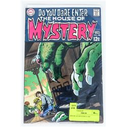 HOUSE OF MYSTERY # 180