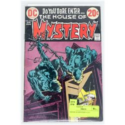 HOUSE OF MYSTERY # 213