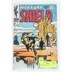 NICK FURY SHIELD # 7