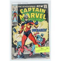 CAPTAIN MARVEL # 17  NEW COSTUME