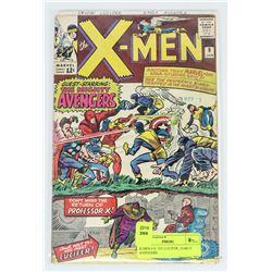 X-MEN # 9, 1ST LUCIFER , EARLY AVENGERS