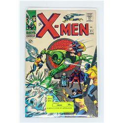 X-MEN # 21 FOUR 1ST APPERANCES