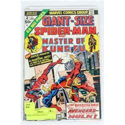 GIANT SIZE SPIDER MAN # 2