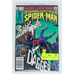 S. SPIDER MAN # 64, 1ST CLOAK & DAGGER