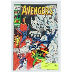 AVENGERS # 61