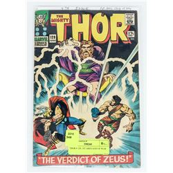 THOR # 129, 1ST ARES GOD OF WAR