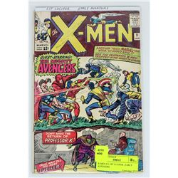 X-MEN # 9, 1ST LUCIFER , EARLY AVENGERS