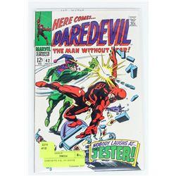 DAREDEVIL # 42, 1ST JESTER