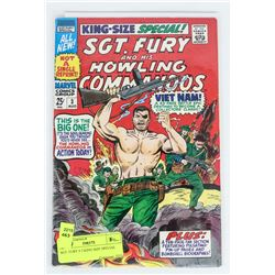 SGT. FURY # 3 KING SIZE SPECIAL