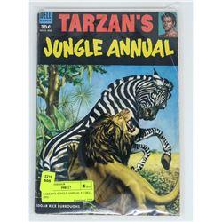 TARZAN'S JUNGLE ANNUAL # 2 DELL 1953