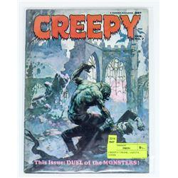 CREEPY # 7 FRANK FRAZETTA COVER