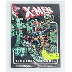MARVEL GRAPHIC NOVEL # 5 X-MEN 1ST PRINT