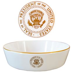 Nixon Presidential China Bowl Used Aboard Air Force 1