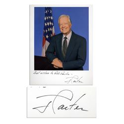 Jimmy Carter Signed 8'' x 10'' Photo