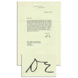 Eisenhower: Constitution Overrides International Laws