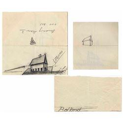 Dwight D. Eisenhower Sketch as President