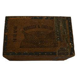 Cigar Box From the Election of 1880 Winfield Hancock