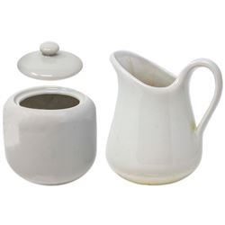 Sugar & Creamer Set Owned by the Kennedy Family