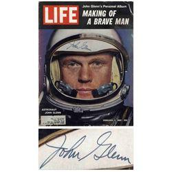 John Glenn Signed ''Life'' Magazine From February 1962