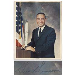 Apollo 1 Astronaut Gus Grissom Signed NASA Photo w/COA