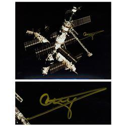 Cosmonaut Gennady Strekalov Signed 10'' x 8'' Photo