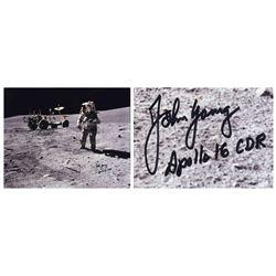 John Young Signed 20'' x 16'' Photo Novaspace COA