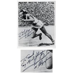 Jesse Owens 1936 Olympics 8'' x 10'' Signed Photo
