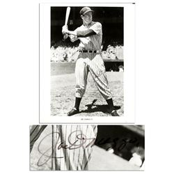 Joe DiMaggio 8'' x 10'' Signed Photo as Yankees PSA/DNA