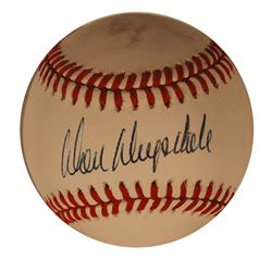 Don Drysdale Single Signed Baseball Official NL