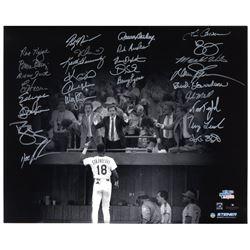 1986 Mets Team-Signed 20'' x 16'' Photo -- Steiner COA