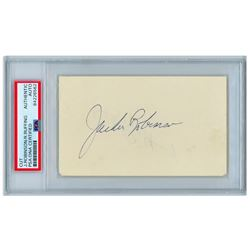 Jackie Robinson Signature Signed Autograph Page