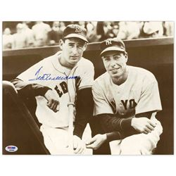 Ted Williams Signed Photo Joe DiMaggio PSA/DNA Red Sox