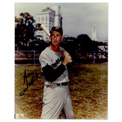 Ted Williams Glossy 8'' x 10'' Signed Photo