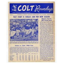 'The Colt Roundup'' Official Colts Publication -- Spring-Summer 1964