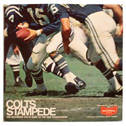 1968 Baltimore Colts LP Record ''Colts Stampede''