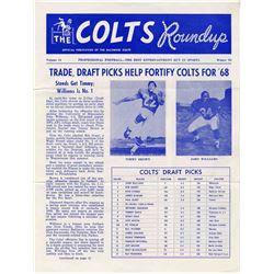 The Baltimore Colts Roundup, Vol. 14, Winter 1968