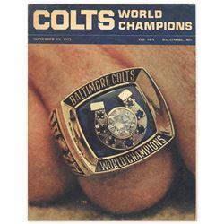 World Champion Baltimore Colts ''Baltimore Sun'' Insert