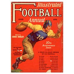 1939 ''Illustrated Football Annual'' Magazine