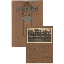 1912 Illinois University Football Calendar