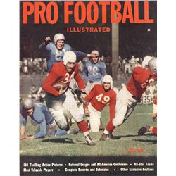 Pro Football Illustrated Magazine 1947