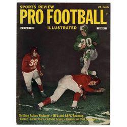 Pro Football Illustrated Magazine 1949