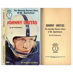 'The Amazing Success Story of Mr. Quarterback Johnny Unitas''